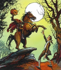 compare and contrast sleepy hollow book and movie